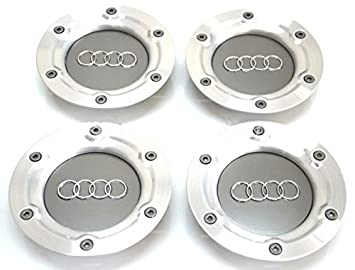 4 embellecedores para tapacubos de llantas Audi TT Coupe Roadster, modelos 1999 - 2002 A6 146 mm.: Amazon.es: Coche y moto