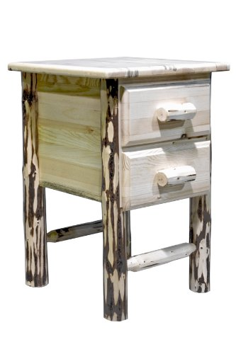 Montana Woodworks Montana Collection 2-Drawer Nightstand/End Table, Ready to Finish
