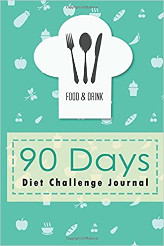amazon 90 days diet challenge journal personal food exercise