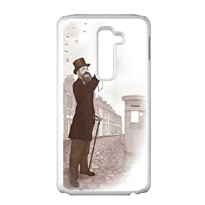 LG G2 Cell Phone Case White Vintage Selfie MPA Phone Case Clear