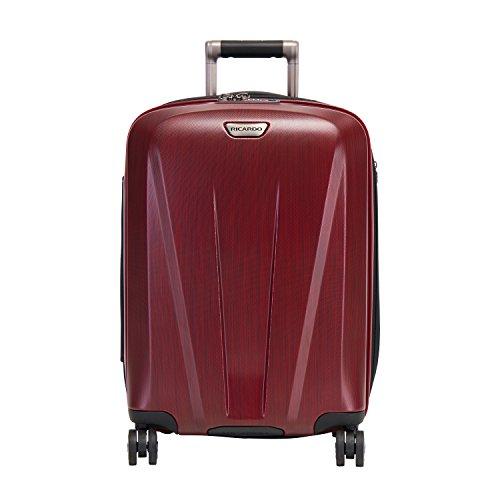 Ricardo Beverly Hills Rio Dell 21-inch Wheelaboard Luggage, Black Cherry
