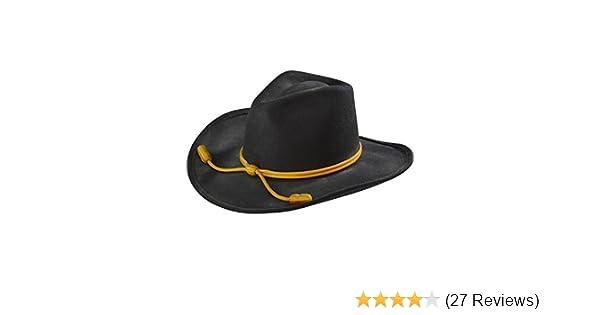 Amazon.com  Resistol Men s John Wayne Hondo Cavalry Hat Black Large   Clothing ed2d5dc6731a