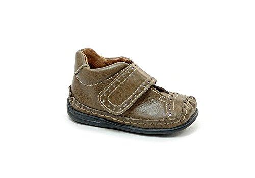 León Shoes Leder Halbschuh Kinder braun 23