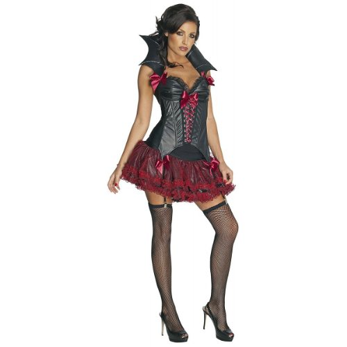 Midnight Vampira Costume - Small - Dress Size (Sexy Male Vampire Costume)