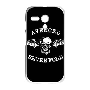Protection Cover Milxb Motorola Moto G White Phone Case Avenged Sevenfold Personalized Durable Cases