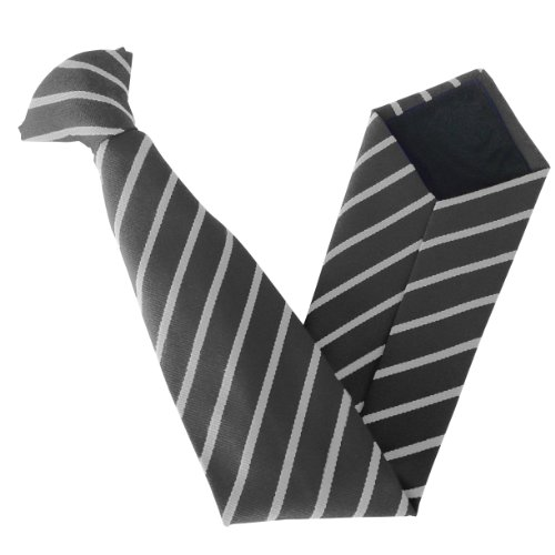 On amp; School Size Clip Stripe Variations Ties Colour amp; White Black Single Hdwqwv