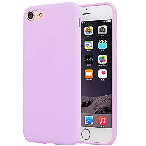 CaseHQ Pink Case Compatible with iPhone 6/6S Plus Case,Ultra-Thin Slim Fit Silicone Rubber Protective Soft TPU Phone Bumper,Shock Absorption and Anti Scratch Finish Premium Matte Protect Cover