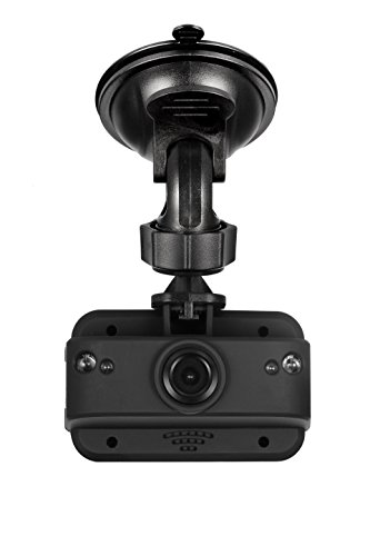 GEKO E1008G E100 Full HD 1080P Dash Cam - Car DVR Dashboard Camera Video Recorder with Night Vision, Parking Monitor, G-Sensor, Free 8GB Micro SD Card