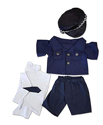 London Bobby Police Outfit Teddy Bear Clothes Fit
