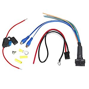bazooka rsa hp awk replacement wiring harness for rsa or