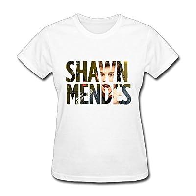 Lady Canadian Singers Shawn Mendes Fan Logo T Shirt For Women