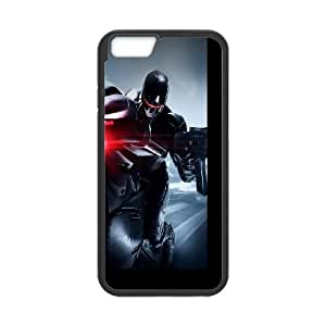 Robocop In Action iPhone 6 4.7 Inch Cell Phone Case Black phone component RT_281582