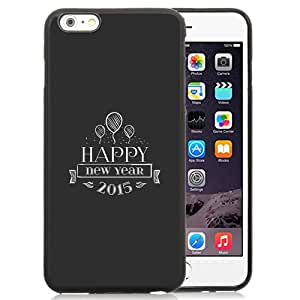 Happy New Year Retro Insignia Durable High Quality iPhone 6 Plus 5.5 Inch TPU Case