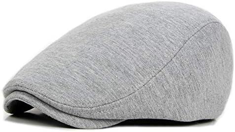 野球帽 キャスケット メンズ ハット ゴルフ コットン 調整可能 レトロ ソフト ハンチング 55-60cm LWQJP (Color : 3, Size : Free size)