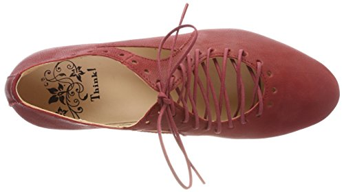 Think! Damen Guad_282284 Brogues Rot (Rosso 70)