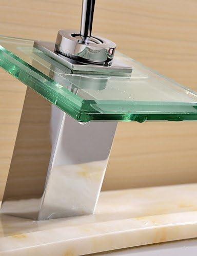 AI WEI mtxtec contempor/áneo grifo cascada para lavabo acabado cromado