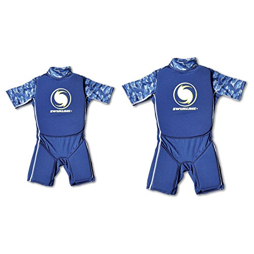 Swimline Boys Medium Swim Wet Suit Life Vest + Boys Large Wet Suit Life - Buoyancy Wetsuit