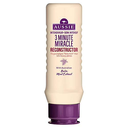 Aussie Minute Miracle Reconstructor Intensive Care for Damaged Hair