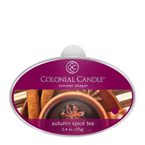 Colonial Candle Autumn Collection Simmer Snap, Autumn Spice Tea