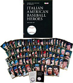 Italian American Baseball Heroes 100 Card Limited Edition Set National Ethnic Heritage Foundation