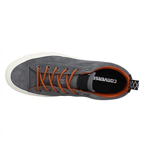 Converse Star Player Premium Suede Ox Uomo Sneaker Grigio