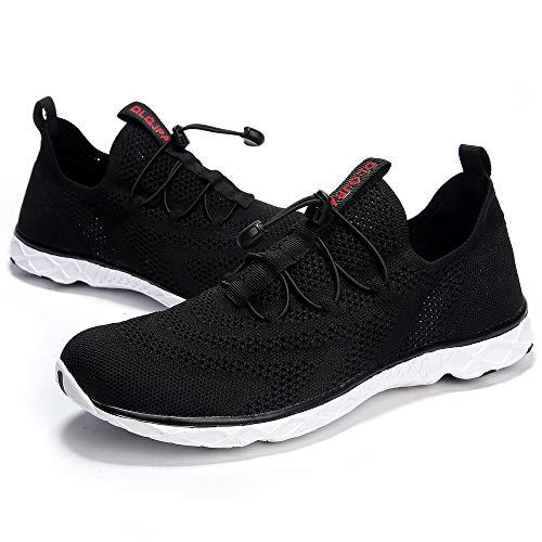 DLGJPA Men Lightweight Quick Drying Aqua Water Shoes Athletic Sport Walking Shoes