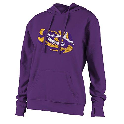 Louisiana State University Jersey - NCAA Louisiana State University W Benchmark Hood, 2X, Purple