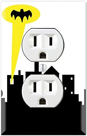 3dRose lsp/_62222/_6 Obama With 60s Peace Symbol 2 Plug Outlet Cover