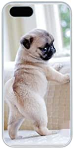 Generic Cute Pug Design Hard Case Cover for Iphone 5 5s