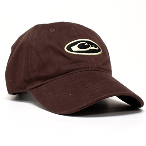 Drake DW17308BRN Waterfowl Oval Logo Six Panel Cap Brown