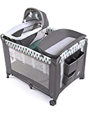 Ingenuity Smart and Simple Packable Portable Playard with Changing Table