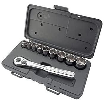 Craftsman 10 pc., 6 pt. 3/8 in. Drive Standard Socket Wrench Set