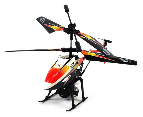 V319 Water Spraying Electric RC Helicopter GYRO 3.5CH Infrared 360° RTF (Colors May Vary)