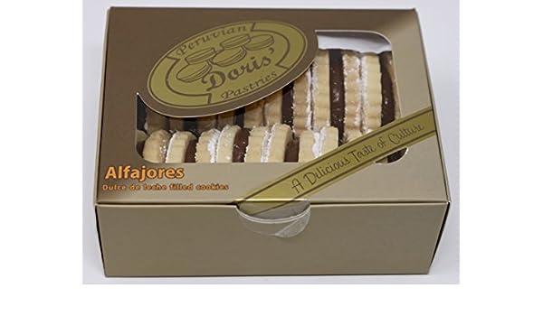 Doris Peruvian Pastries - Signature Alfajores: Amazon.com: Grocery & Gourmet Food