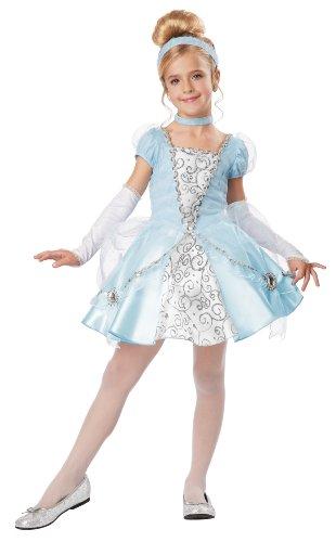 [California Costumes Cinderella Deluxe Child Costume, Medium] (Cinderella Play Costumes)