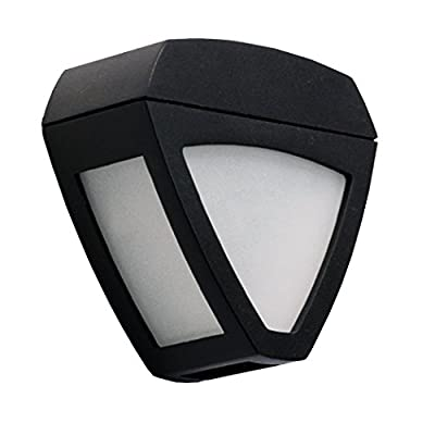 Eshion Triangle Solar Wall Light 2 LEDs for Outdoor Garden Lighting