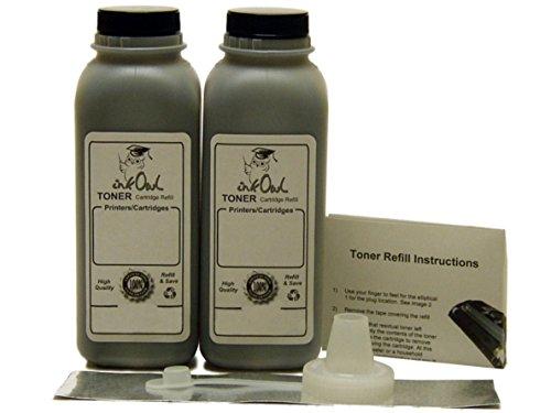 InkOwl - 2 Laser Toner Refill Kit for BROTHER TN-720, TN-750, TN-780