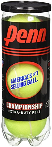 Penn Championship Extra-Duty Felt Tennis Balls Can – 3 Count per Can – DiZiSports Store