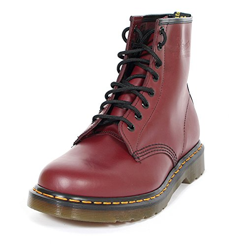 Dr. Martens Men's 1460 8 Eye Boots, Cherry Red, 10 M US