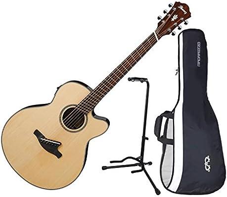 Ibanez aelff10nt fanned mástil acústica guitarra eléctrica Natural ...