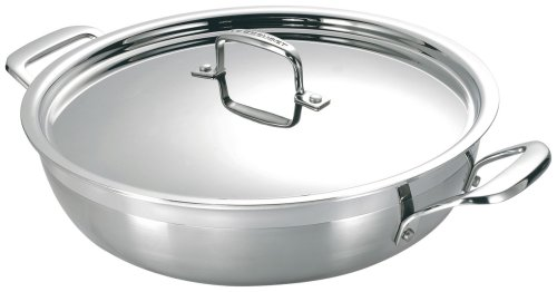 Le Creuset 3-Ply Stainless-Steel 5-Quart Braiser