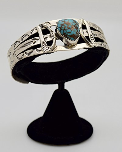 Old Pawn Bracelet with RARE Natural #8 (Old Pawn Turquoise)