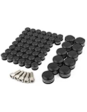Motorcycle Bolt Toppers Caps Engine Bolt Caps Kits Set for Twin Cam FLTFLHTouring Road King Dyna Softail
