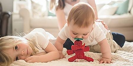 Amazon.com: Wubbanub perro rojo infantil Chupete: Baby