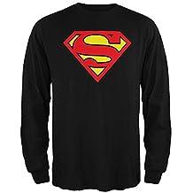 Superman - Shield Logo Long Sleeve T-Shirt