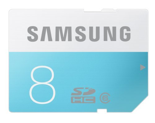 Samsung 8GB Class 6 SDHC up to 24MB/s (MB-SS08D/AM)