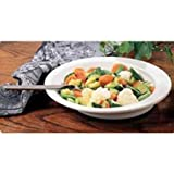 Patterson Medical Round Scoop Dish 9 White Melamine