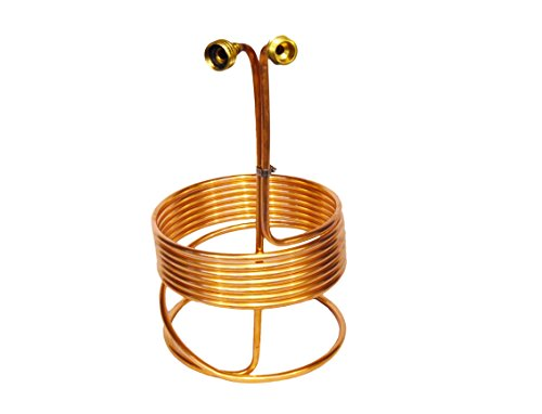 """Eagle Brewing WC23BULK1 Wort Immersion Chiller with Brass Fittings, 25' x 3/8"""" (Pack of 50)"""