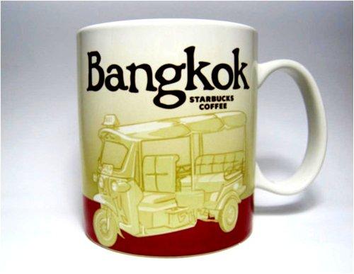 New Starbucks Coffee Cup City Collector Series Bangkok Thailand Mug Tea (Ceramic Mug New Coffee Cup)