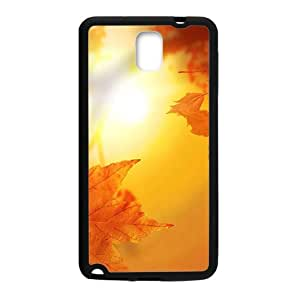 Sunset Golden maple leaves Phone Case for Samsung Galaxy Note3